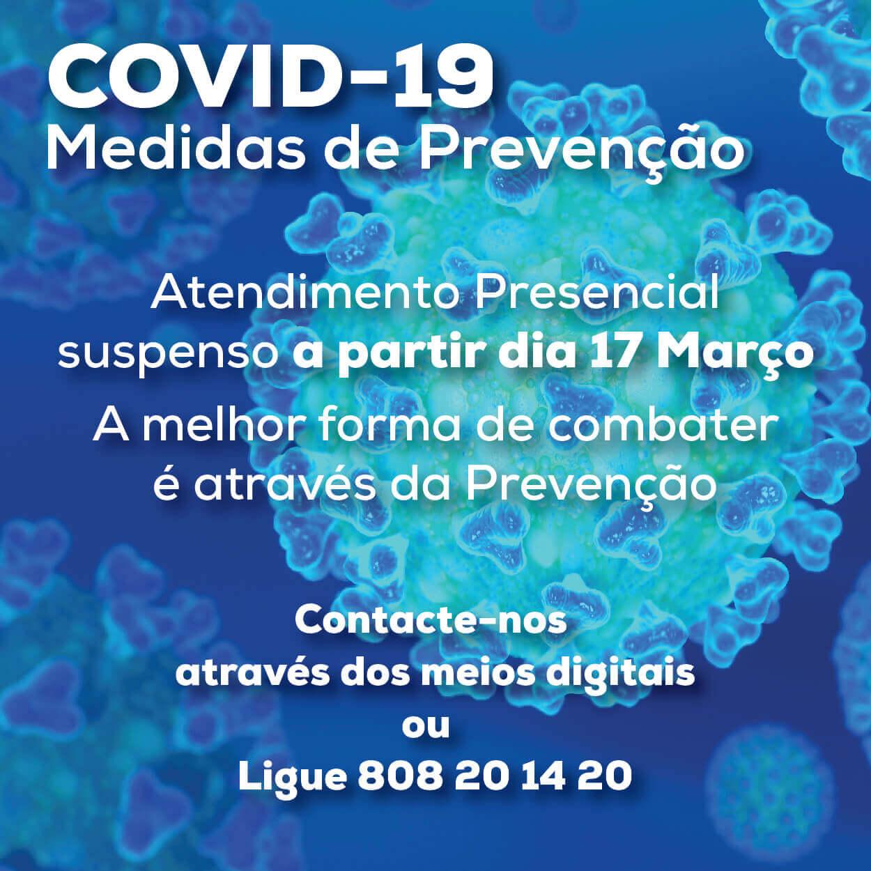 Medidas de Prevenção à Propagação da Covid-19